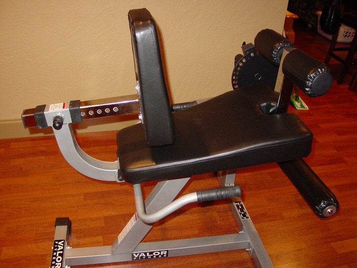 Leg Extension and Seated Leg Curl Machine -- Valor Fitness (CC-4)