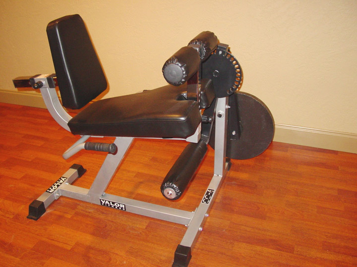 Leg Extension And Seated Leg Curl Machine Valor Fitness
