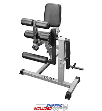 Valor Athletics CC-4 Plate Loaded Leg Extension and Seated Leg Curl Machine