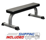 Valor Athletics DA-7 Flat Utility Bench for Weight Training