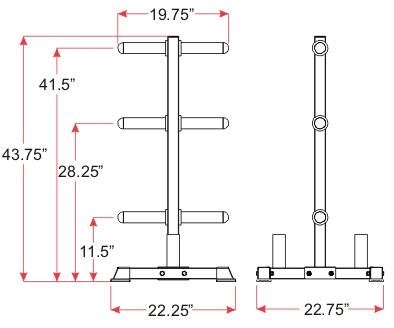 BH-9 Dimensions