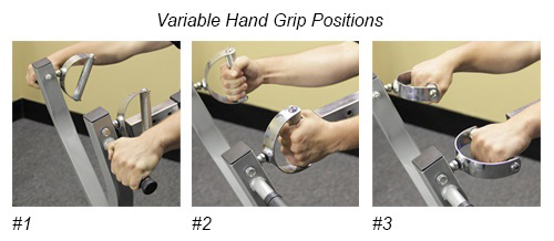 cb-14 hand grip positions