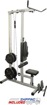 Lat Pull/Curl/Ab Home Gym