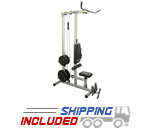 Valor Athletics CB-12 Home Gym w/Lat Pull, Bicep Curl and Ab Crunch