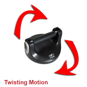 twisting motion