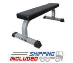 Valor Fitness DA-7 Flat Utility Bench for Dumbbell Exercises