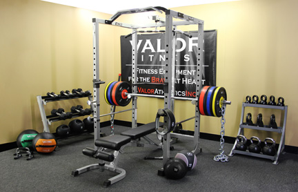 Valor Athletics Squat Racks, Weight Benches, Speed Bag Platforms and More