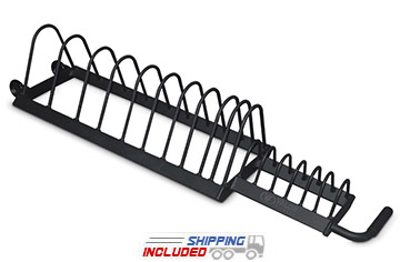 Valor Athletics BH-16 Rolling Horizontal Plate Rack