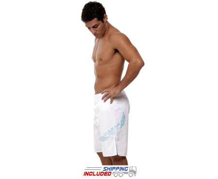 VT-X Hardcore White Fight Shorts