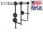 USA Made Cucamonga Creeper High Capacity Wall Mounted Cross-Training Rig