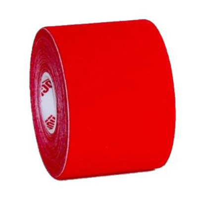 Solid Red Kinesiology Tape