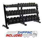 Hex Dumbbell Rack